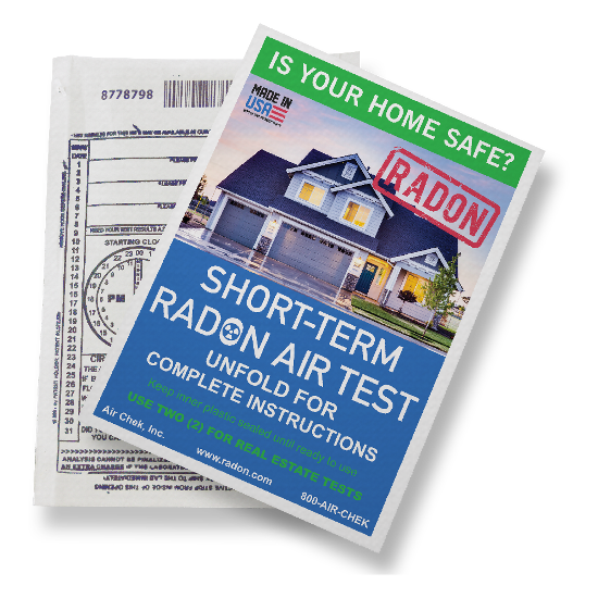 3-7 Day Radon Test Kit